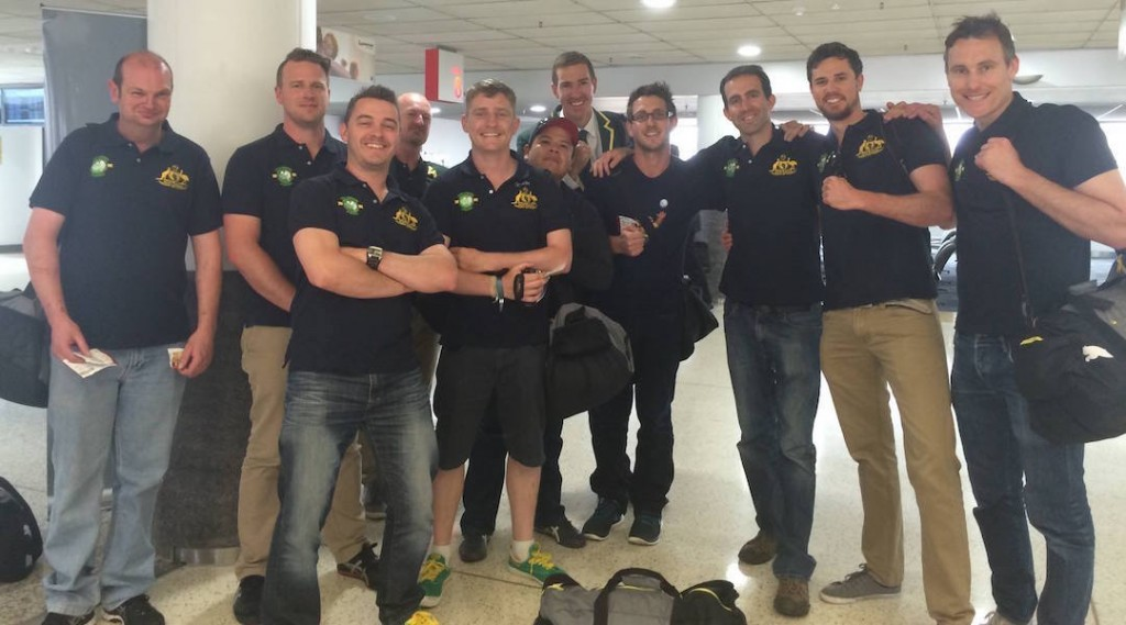 Australian National Team depart for the World Championships in Argentina
