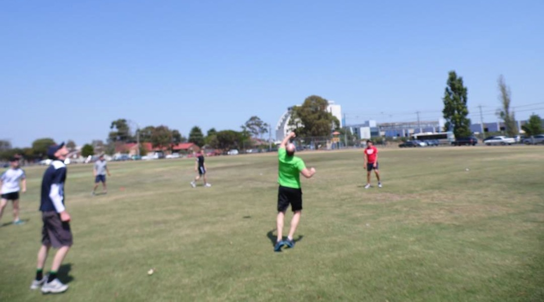 Feb 7, 2013 - First officially documented game of fistball in Australia