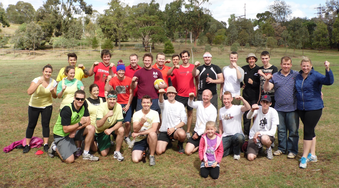 Mar 17, 2013 - First organised fistball tournament is held in Australia, featuring 4 teams and titled 'Fistivus', the winning team claiming the Peter Norman Trophy