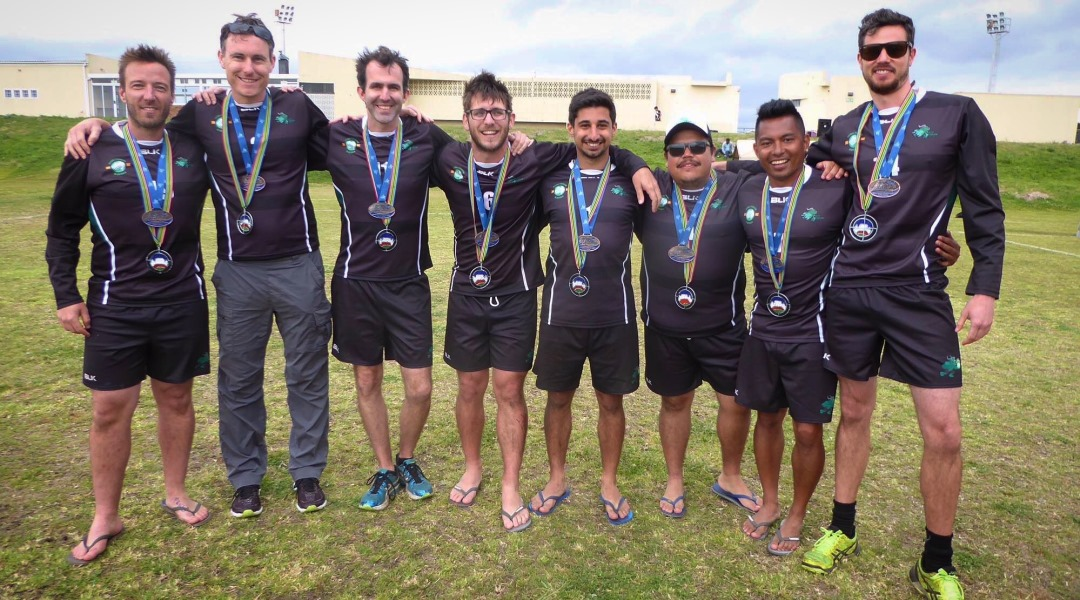 Oct 14-15th - For the first time in history an Australian club competed in the World Cup, with South Melbourne Fistball Club claiming the bronze medal at the 2016 World Cup in Cape Town, South Africa