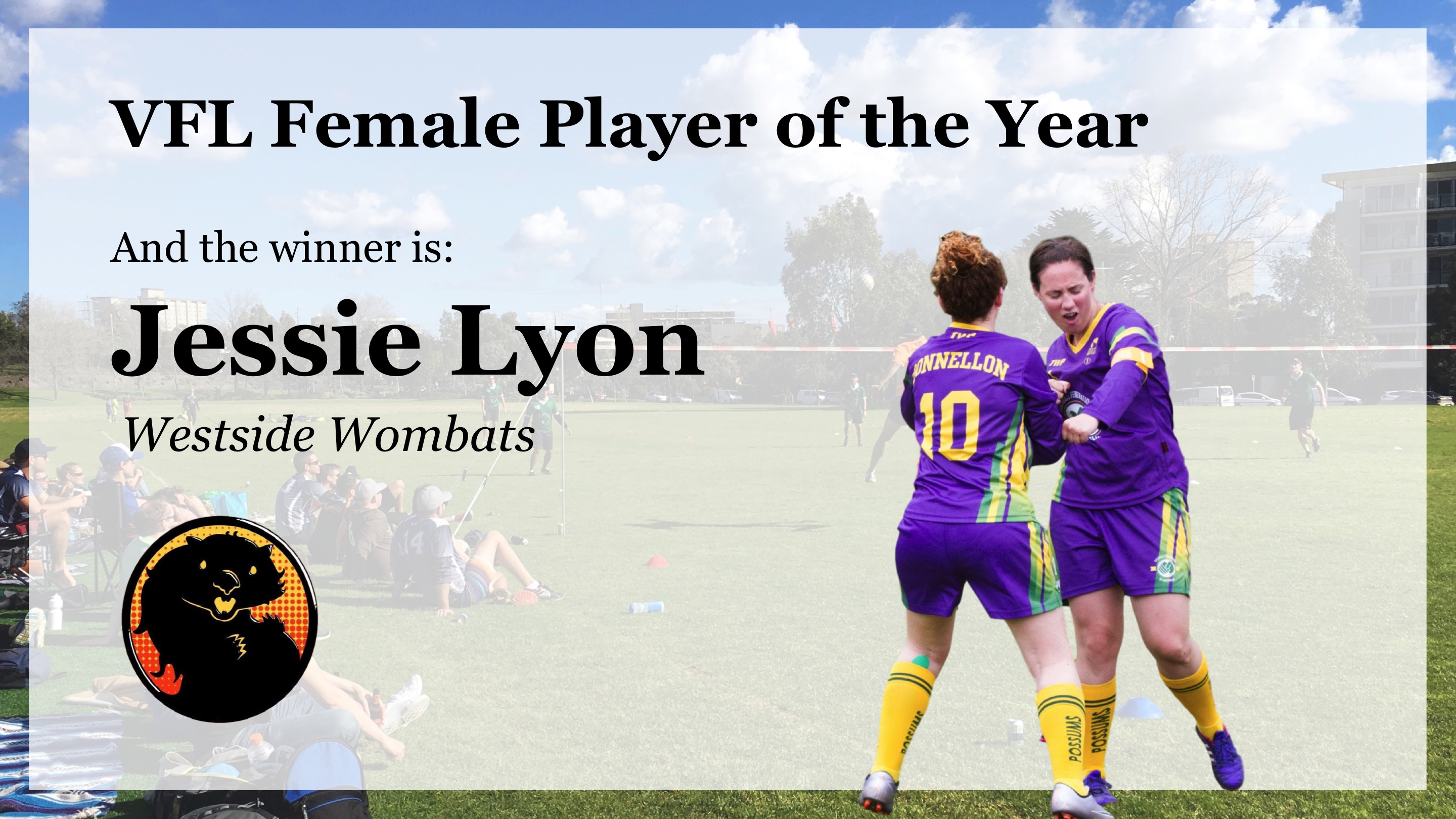 VFL Female Player of the Year