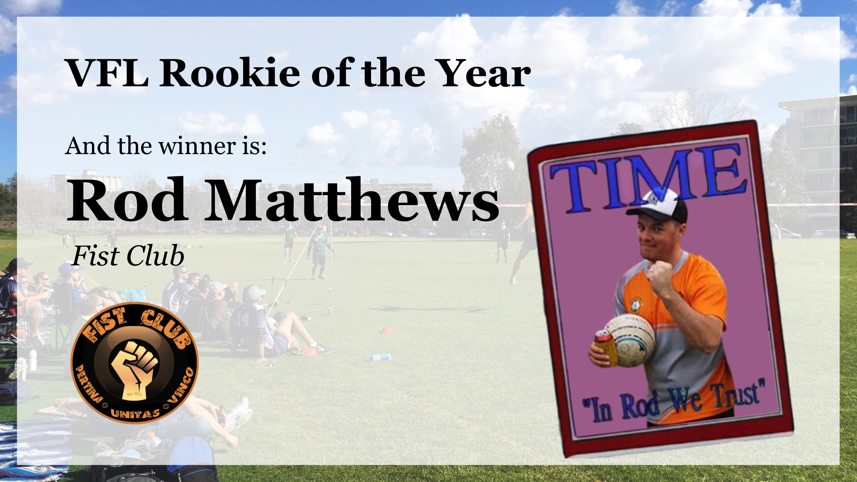 VFL Rookie of the Year